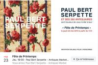 Spring Fair organised by  Paul Bert Serpette Antiques Market